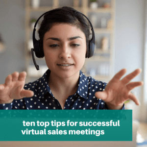 tips for successful sales meetings